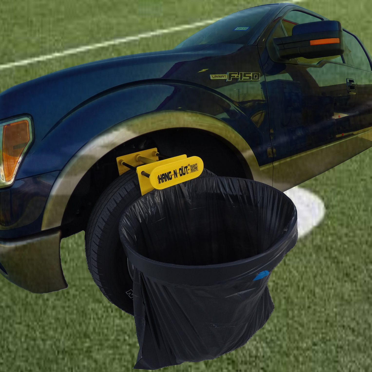Hang n out tailgaters trash can